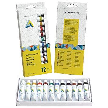 Watercolour Paint Set 12pk