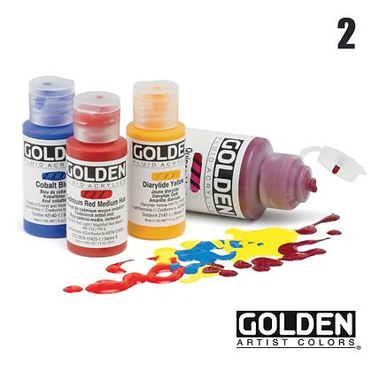 Fluid Acrylic Paints - #2
