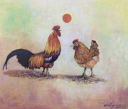 Cock & Hen