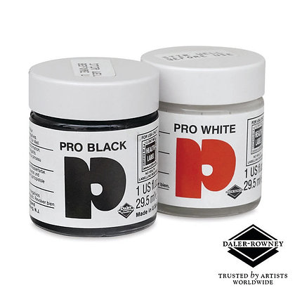 Opaque Water-based Inks - Black & White