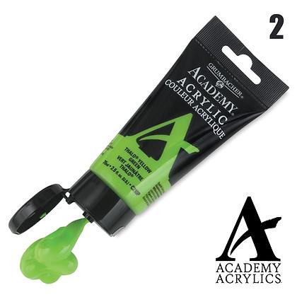 Academy Acrylic Paints - 90ml - #2