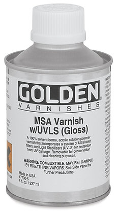 MSA Acrylic Varnish with UVLS