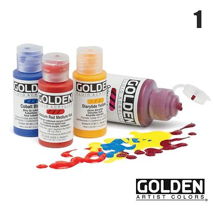 Fluid Acrylic Paints - #1