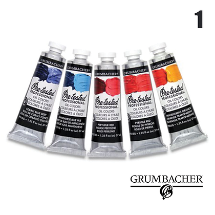 Pre-Tested Oil Paints - #1