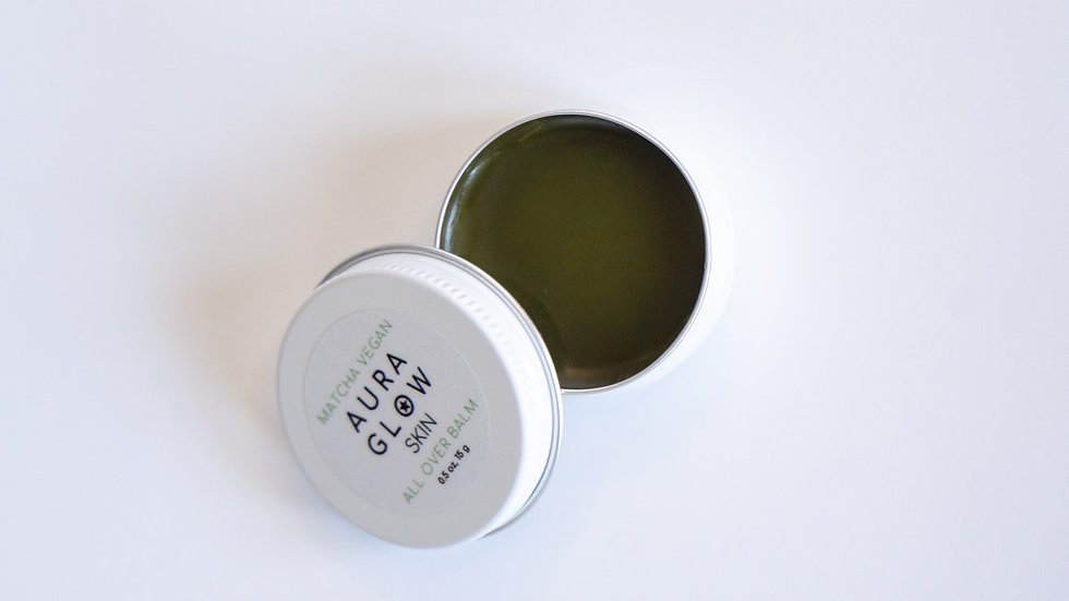 Matcha Vegan All Over Balm