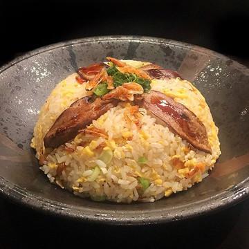Foie Gras and Sakura Ebi Fried Rice