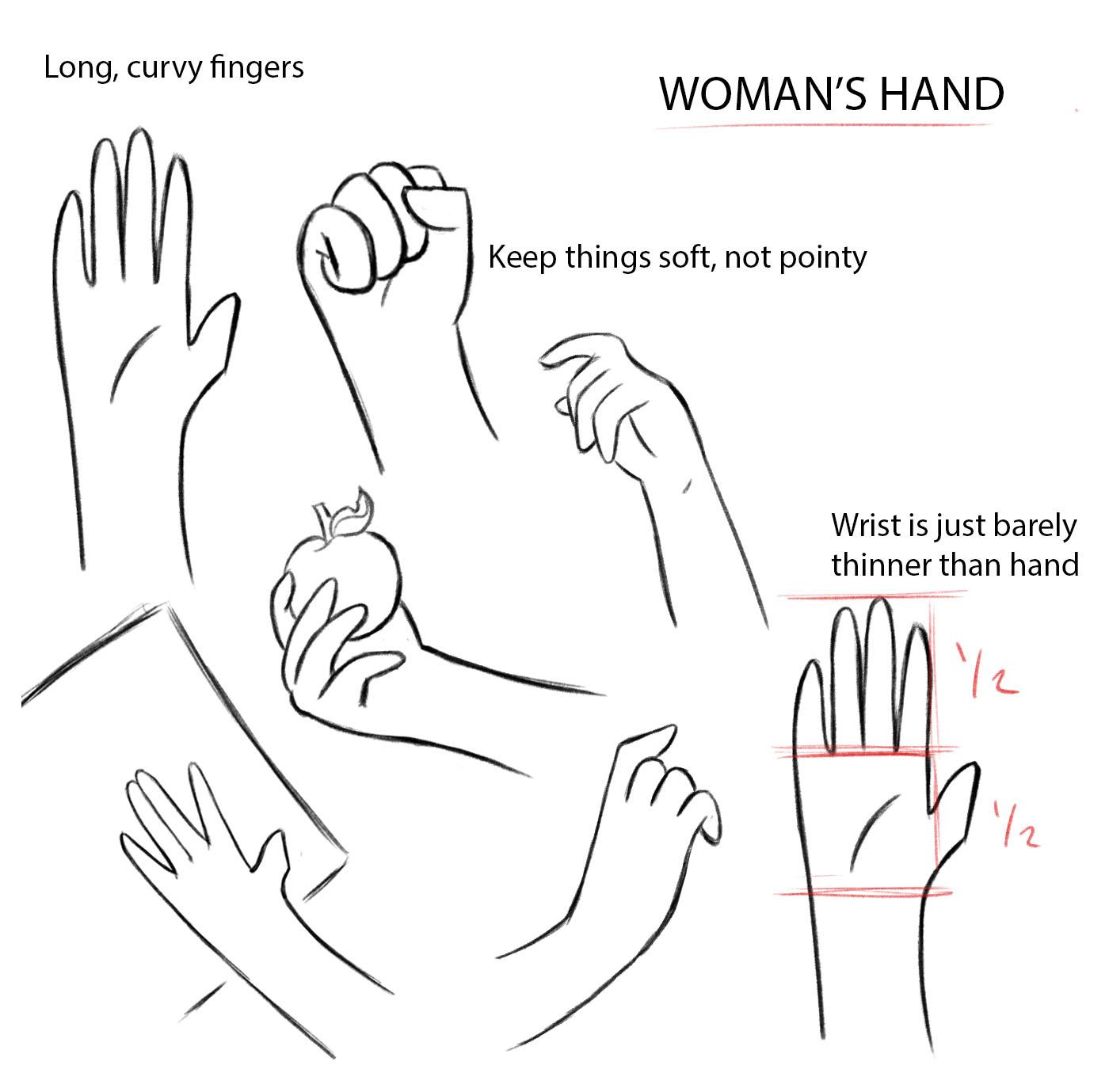 Hand Sheet - Woman