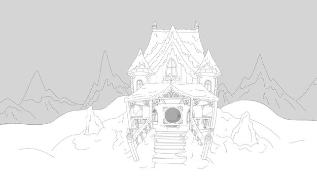 Polar Bear House Wide
