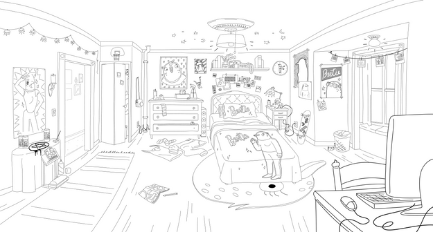 Plant Teen Bedroom