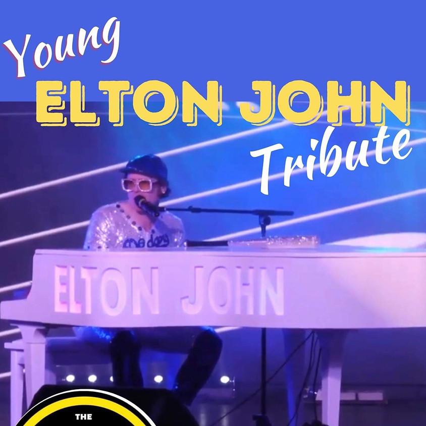 Young Elton John tribute