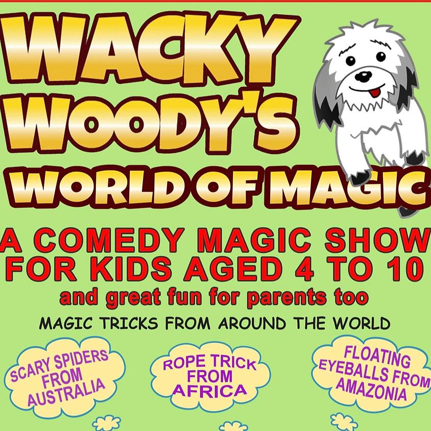 Wacky Woody children's Magician