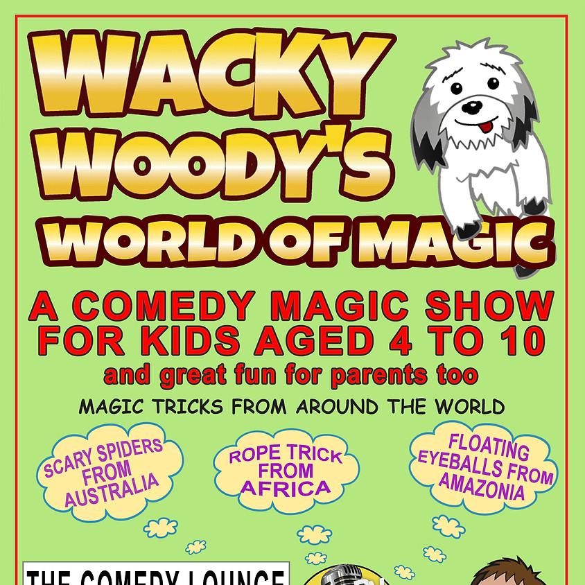 WACKY WOODY'S WORLD OF MAGIC