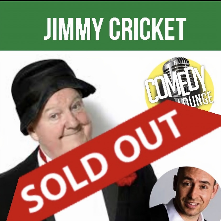 Jimmy Cricket Celebrating his 75th Birthday at the Comedy Lounge