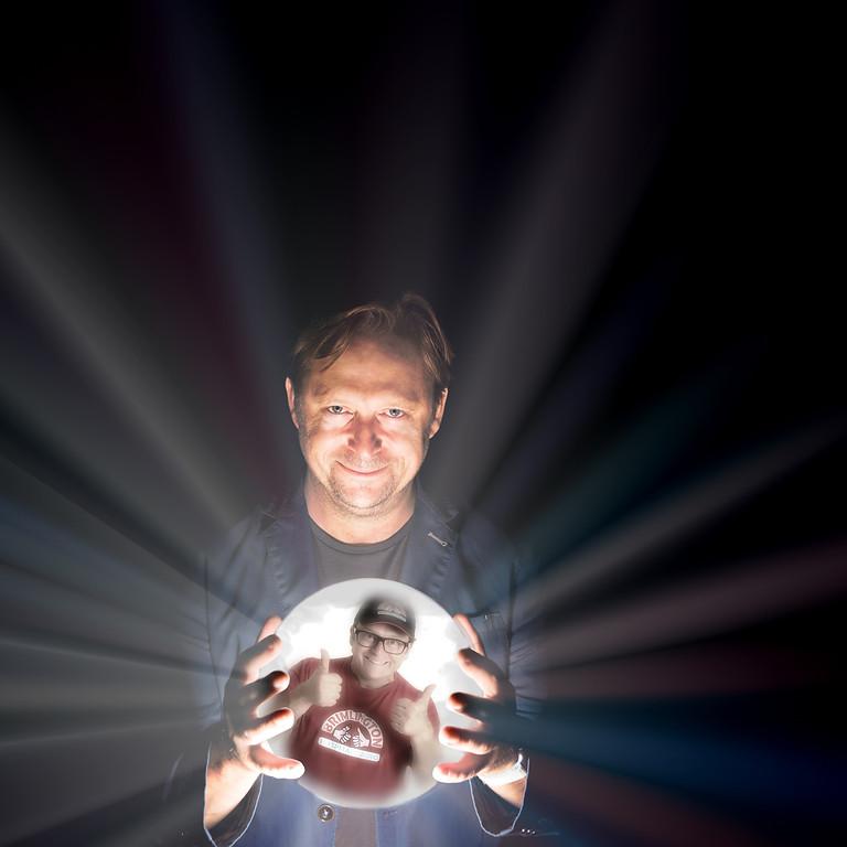 Ivan Brackenbury supports Tom Binns: The 'Psychic' Comedium.