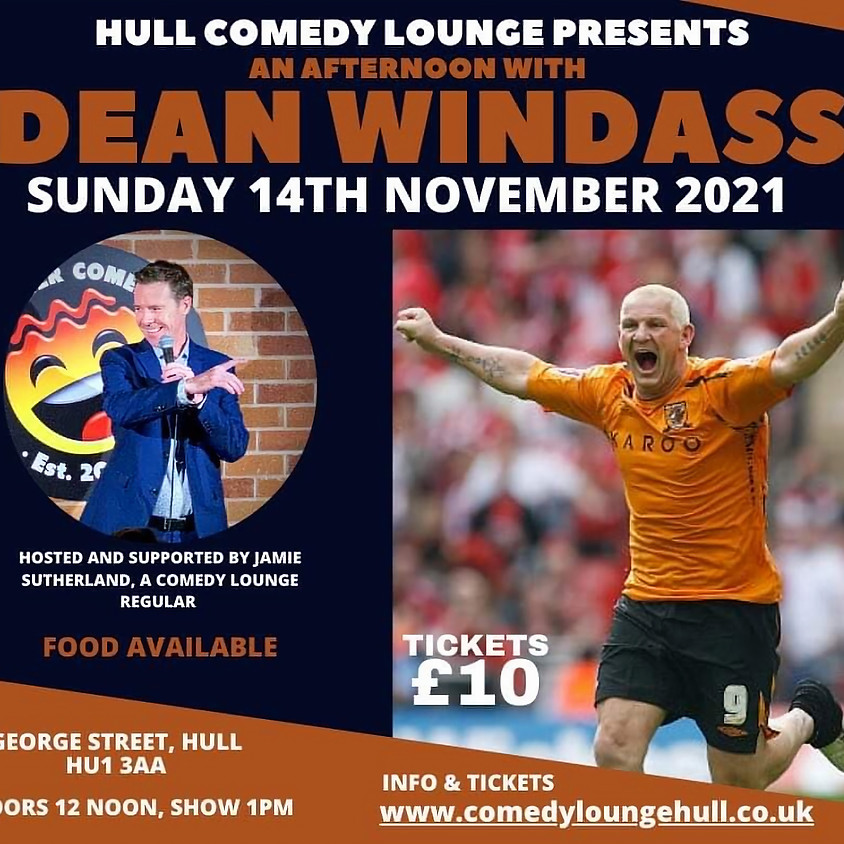 An Afternoon with DEAN WINDASS