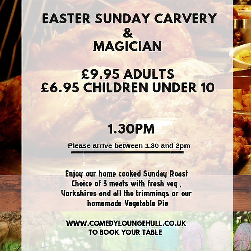 Our Easter Sunday Carvery for all the family
