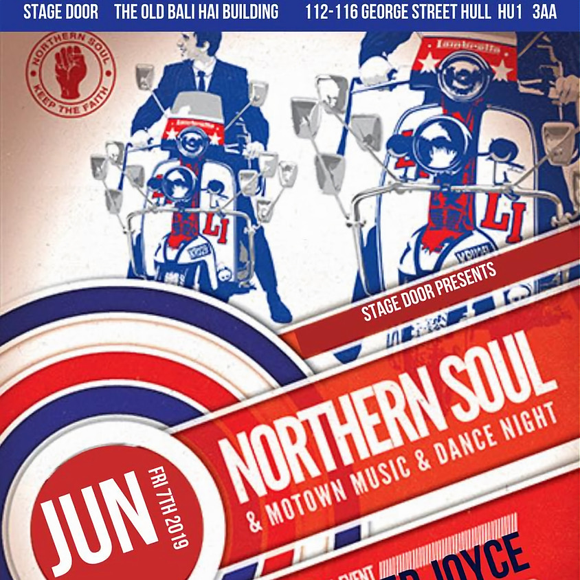Northern Soul and Motown Music at the STAGE DOOR