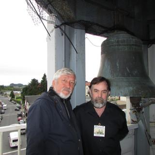 На колокольне храма Святого Михаила