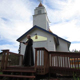 Церковь святителя Николая – самая древняя постройка юго-центральной Аляски 1870 г.
