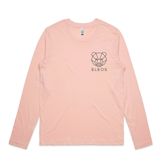 Womens Insignia Long Sleeve Pink
