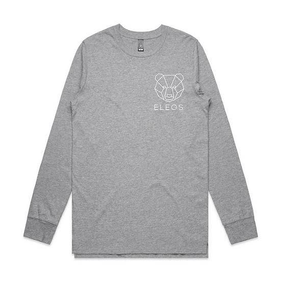 Mens Trademark Long Sleeve Grey