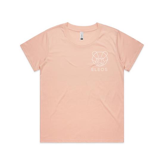 Womens Insignia Tee Pink