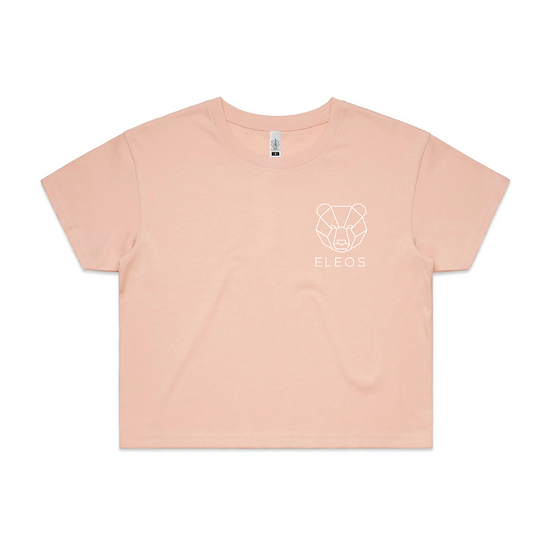 Womens Crop Pink