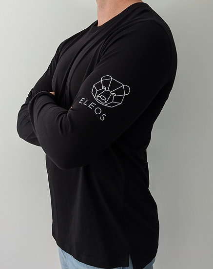 Patch Long Sleeve Black