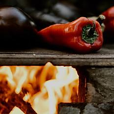 Roasted Red Pepper Pesto w/ handmade tagliatelle
