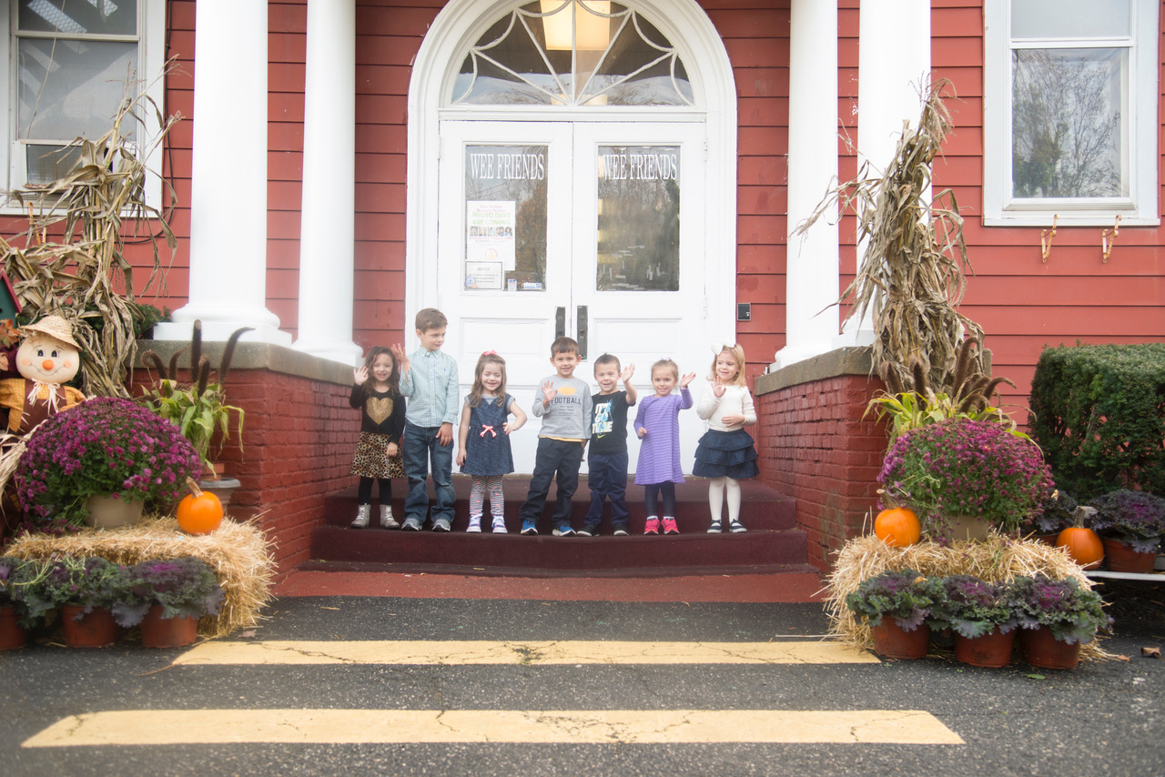 Wantagh Building Kids Waving Website photo