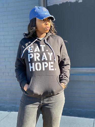 EAT. PRAY. HOPE.® BROKEN UNISEX HOODIE