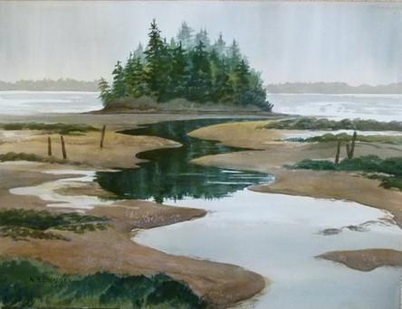 Tidal Flats, Columbia River
