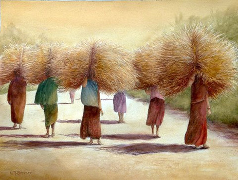 Straw Carriers, India