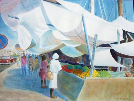 Open Air Market, Curacao