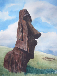 Moai Quarry, Easter Island