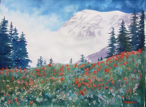 Mt. Rainier Summer