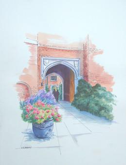 Sissinghurst Entrance