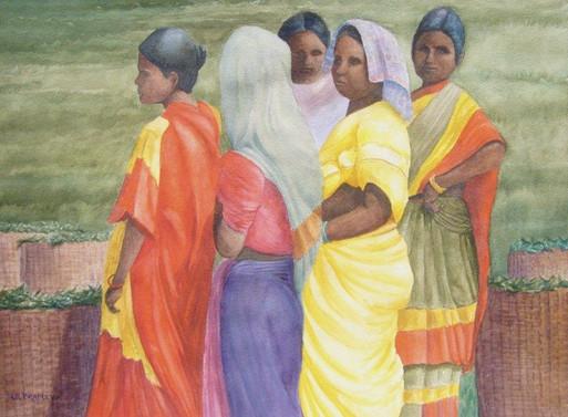 Tea Harvesters, Assam India