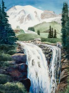 The Falls at Mount Rainier