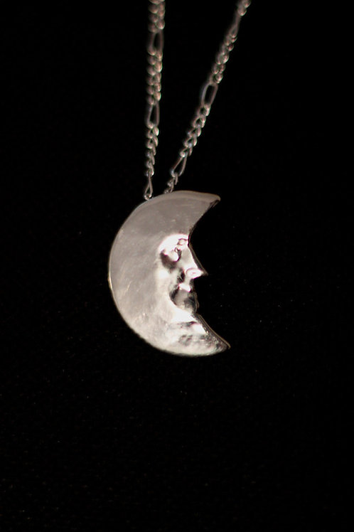 Man In The Moon Pendant