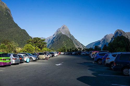 Milford Sound - 5 Hours Parking (minimum)
