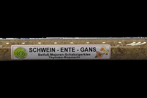 Schwein-Ente-Gans Gewürz im Reagenzglas -15 g