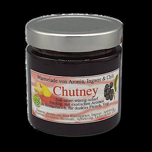 Chutney von Aronia, Ingwer und Chili - 400 ml