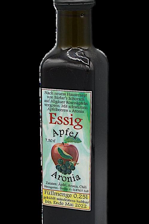 Essig mit Apfel und Aronia - 250 ml