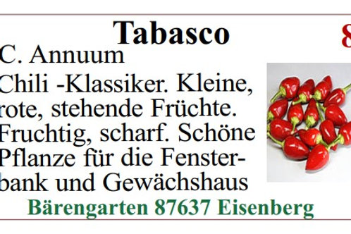 Chilisamen - Tabasco