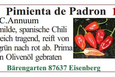 Chilisamen - Pimienta de Padron