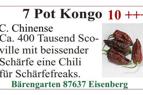 Chilisamen - 7 Pot Kongo