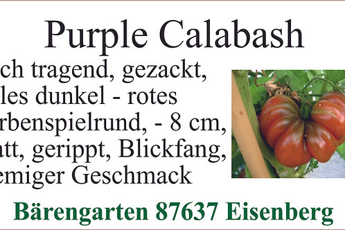 Tomaten mittel -Purple Calabash