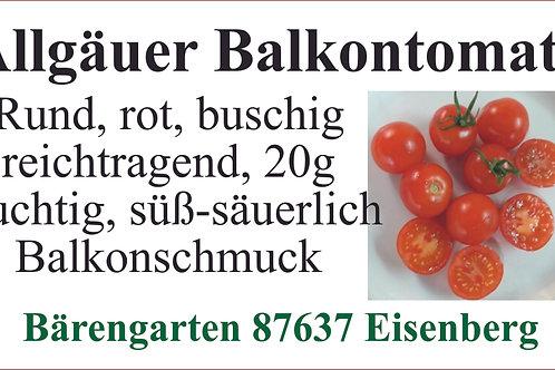 Tomaten klein - Allgäuer Balkontomate