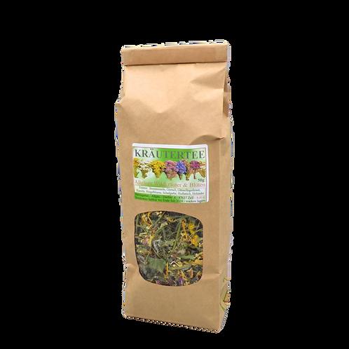 Kräutertee Allgäuer Wildkräuter und Blüten - 50 g